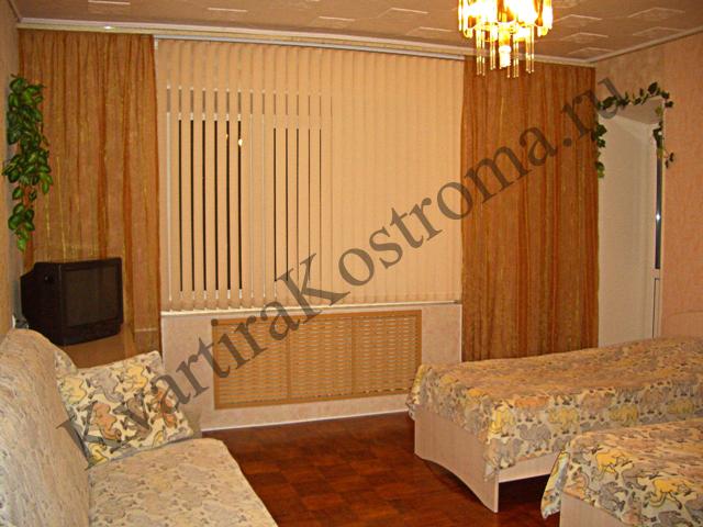 Жилье посуточно в Костроме